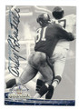ANDY ROBUSTELLI NEW YORK GIANTS AUTOGRAPHED FOOTBALL CARD #43016F