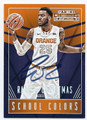 RAKEEM CHRISTMAS SYRACUSE UNIVERSITY ORANGE AUTOGRAPHED ROOKIE BASKETBALL CARD #50216D