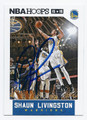 SHAUN LIVINGSTON GOLDEN STATE WARRIORS AUTOGRAPHED BASKEBALL CARD #50316E