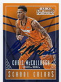 CHRIS McCULLOUGH SYRACUSE UNIVERSITY ORANGE AUTOGRAPHED ROOKIE BASKETBALL CARD #50416C