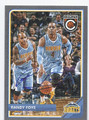 RANDY FOYE DENVER NUGGETS AUTOGRAPHED BASKETBALL CARD #50716E