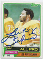 LEE ROY SELMON TAMPA BAY BUCCANEERS AUTOGRAPHED VINTAGE FOOTBALL CARD #51216A