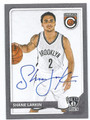 SHANE LARKIN BROOKLYN NETS AUTOGRAPHED BASKETBALL CARD #51216c