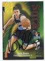 BOB SURA CLEVELAND CAVALIERS AUTOGRAPHED BASKETBALL CARD #51316D
