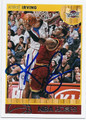 KYRIE IRVING CLEVELAND CAVALIERS AUTOGRAPHED BASKETBALL CARD #51416E