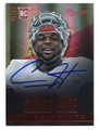 CARLOS HYDE SAN FRANCISCO 49ers AUTOGRAPHED ROOKIE FOOTBALL CARD #51416F