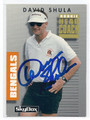 DAVE SHULA CINCINNATI BENGALS AUTOGRAPHED FOOTBALL CARD #51516C