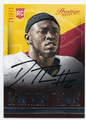 De'ANTHONY THOMAS KANSAS CITY CHIEFS AUTOGRAPHED ROOKIE FOOTBALL CARD #51816D