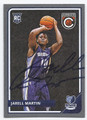 JARELL MARTIN MEMPHIS GRIZZLIES AUTOGRAPHED ROOKIE BASKETBALL CARD #51916B