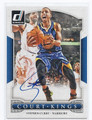 STEPHEN CURRY GOLDEN STATE WARRIORS AUTOGRAPHED BASKETBALL CARD #52116C