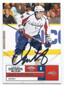 ALEXANDER OVECHKIN WASHINGTON CAPITALS AUTOGRAPHED HOCKEY CARD #52116F