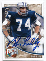 BOB LILLY DALLAS COWBOYS AUTOGRAPHED FOOTBALL CARD #52516E