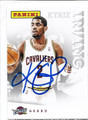 KYRIE IRVING CLEVELAND CAVALIERS AUTOGRAPHED BASKETBALL CARD #52616A