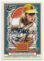 TATUM O'NEAL BAD NEWS BEARS ACTRESS AUTOGRAPHED CARD #52616B