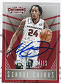 MICHAEL QUALLS UNIVERSITY OF ARKANSAS RAZORBACKS AUTOGRAPHED ROOKIE BASKETBALL CARD #52616F