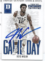 JUSTISE WINSLOW DUKE UNIVERSITY BLUE DEVILS AUTOGRAPHED ROOKIE BASKETBALL CARD #52716CE