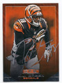 AJ GREEN CINCINNATI BENGALS AUTOGRAPHED FOOTBALL CARD #52716D