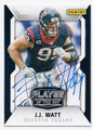 JJ WATT HOUSTON TEXANS AUTOGRAPHED FOOTBALL CARD #52816D
