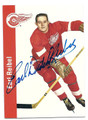 "EARL ""DUTCH"" REIBEL DETROIT RED WINGS AUTOGRAPHED HOCKEY CARD #52816E"