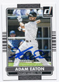 ADAM EATON CHICAGO WHITE SOX AUTOGRAPHED BASEBALL CARD #53016F
