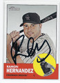 RAMON HERNANDEZ COLORADO ROCKIES AUTOGRAPHED BASEBALL CARD #60116F
