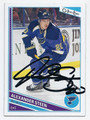 ALEXANDER STEEN ST LOUIS BLUES AUTOGRAPHED HOCKEY CARD #60216C