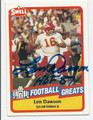 LEN DAWSON KANSAS CITY CHIEFS AUTOGRAPHED VINTAGE FOOTBALL CARD #60416D