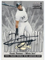 FRANK THOMAS CHICAGO WHITE SOX AUTOGRAPHED & NUMBERED BASEBALL CARD #60516A