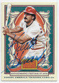 KEITH HERNANDEZ ST LOUIS CARDINALS AUTOGRAPHED BASEBALL CARD #60616A