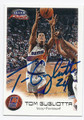 TOM GUGLIOTTA PHOENIX SUNS AUTOGRAPHED BASKETBALL CARD #60616B