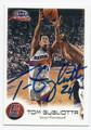 TOM GUGLIOTTA PHOENIX SUNS AUTOGRAPHED BASKETBALL CARD #60616B