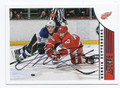 HENRIK ZETTERBERG DETROIT RED WINGS AUTOGRAPHED HOCKEY CARD #60616C