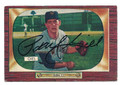 PAUL GIEL NEW YORK GIANTS AUTOGRAPHED VINTAGE ROOKIE BASEBALL CARD #60616D