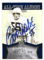 BOB GOLIC NOTRE DAME FIGHTING IRISH AUTOGRAPHED FOOTBALL CARD #60716C