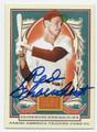 """AL """"RED"""" SCHOENDIENST ST LOUIS CARDINALS AUTOGRAPHED BASEBALL CARD #60716D"""