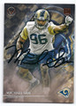 MICHAEL SAM ST LOUIS RAMS AUTOGRAPHED ROOKIE FOOTBALL CARD #60816E