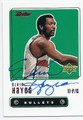 ELVINHAYES WASHINGTON BULLETS AUTOGRAPHED BASKETBALL CARD #60816F