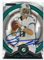 RYAN TANNEHILL MIAMI DOLPHINS AUTOGRAPHED FOOTBALL CARD #61016D