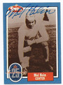 MEL HEIN NEW YORK GIANTS AUTOGRAPHED VINTAGE FOOTBALL CARD #61216B