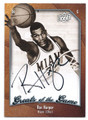 RON HARPER UNIVERSITY OF MIAMI HAWKS AUTOGRAPHED BASKETBALL CARD #61416A
