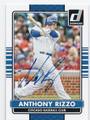 ANTHONY RIZZO CHICAGO CUBS AUTOGRAPHED BASEBALL CARD #61416B