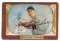 JIM BUSBY WASHINGTON SENATORS AUTOGRAPHED VINTAGE BASEBALL CARD #61516C