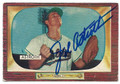 JOE ASTROTH KANSAS CITY ATHLETICS AUTOGRAPHED VINTAGE BASEBALL CARD #61716A