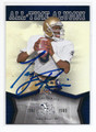 TONY RICE NOTRE DAME FIGHTING IRISH AUTOGRAPHED FOOTBALL CARD #61716E