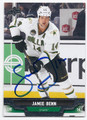 JAMIE BENN DALLAS STARS AUTOGRAPHED HOCKEY CARD #61716F