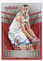 SAM DEKKER WISCONSIN BADGERS AUTOGRAPHED ROOKIE BASKETBALL CARD #61916D