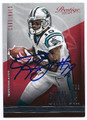 TED GINN JR ARIZONA CARDINALS AUTOGRAPHED FOOTBALL CARD #62116C