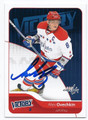 ALEXANDER OVECHKIN WASHINGTON CAPITALS AUTOGRAPHED HOCKEY CARD #62316B