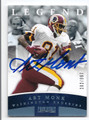 ART MONK WASHINGTON REDSKINS AUTOGRAPHED & NUMBERED FOOTBALL CARD #62516F