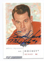 GORDIE HOWE DETROIT RED WINGS AUTOGRAPHED HOCKEY CARD #62616B